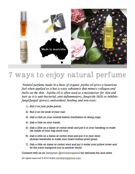 7 Ways To Enjoy Natural Perfume